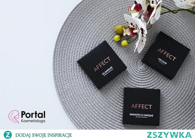 Róż, bronzer i puder od AFFECT