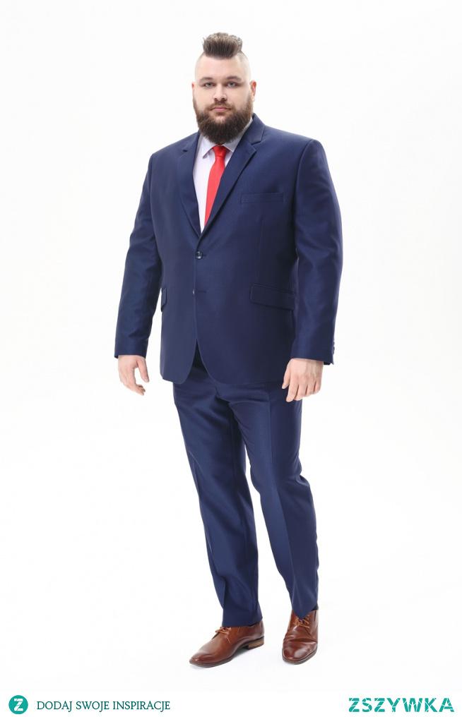 Garnitury męskie duże rozmiary - bo mężczyźni w wiekszych rozmiarach xxl czy 2xl również chcą wyglądać modnie, elegancko i stylowo. Dlatego duże garnitury znajdziesz w sklepie XXLMEN