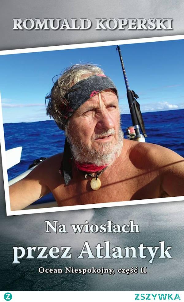 """""""Na wiosłach przez Atlantyk"""" to kolejna podróżnicza książka Romualda Koperskiego, z wykształcenia muzyka pianisty, a z zamiłowania podróżnika, wciąż szukającego nowych wyzwań i przygód. Z uwagi na fakt iż Koperski nie jest zawodowym żeglarzem było to nie lada wyzwanie. Tym razem autor książki zmierzył się z bezkresem Oceanu Atlantyckiego. Książkę można umieścić w kategorii motywacyjno-filozoficzno-podróżniczych..."""
