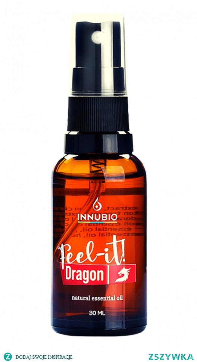 INNUBIO Feel-it Dragon! Dragon – mistyczna, korzenno-żywiczna kompozycja o wyraźnym działaniu rozgrzewającym i afrodyzyjnym. Link znajdziesz w komentarzu...