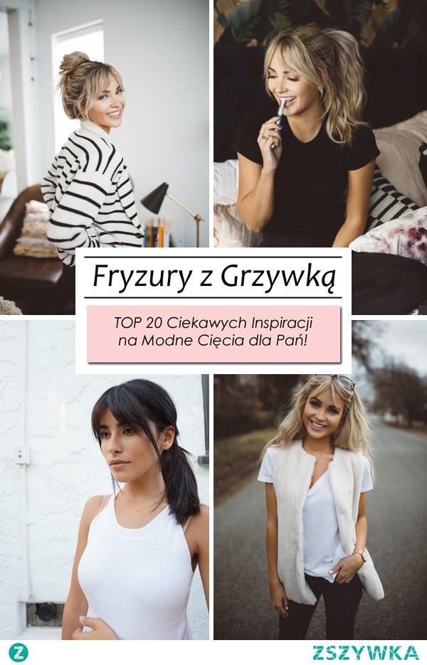 TOP 20 Modnych Inspiracji na Fryzurę z Grzywką!
