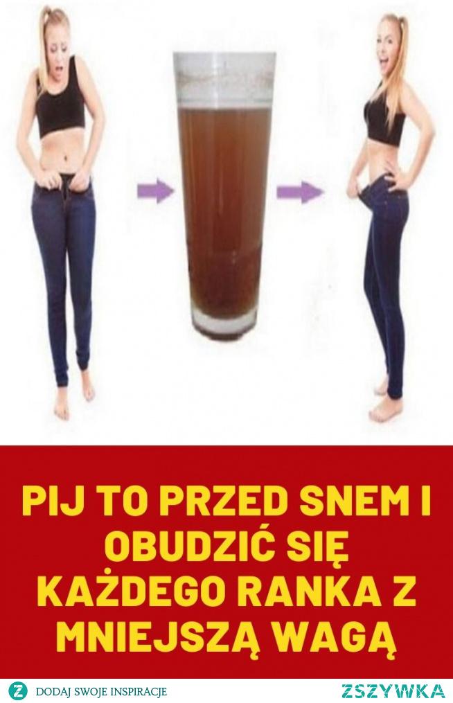 Pij to przed snem i obudzić się każdego ranka z mniejszą wagą