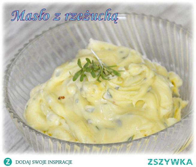 Masło z rzeżuchą