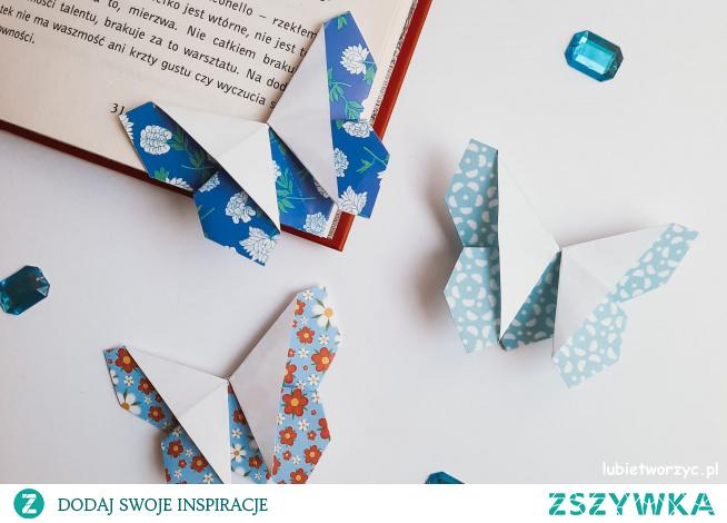 Tutorial ukazujący sposób wykonania motyla metodą origami ;)