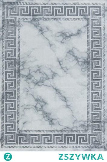 Dywan Naxos grecki szary/srebrny