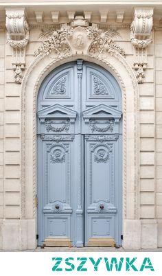 .... Blue Doors In Paris