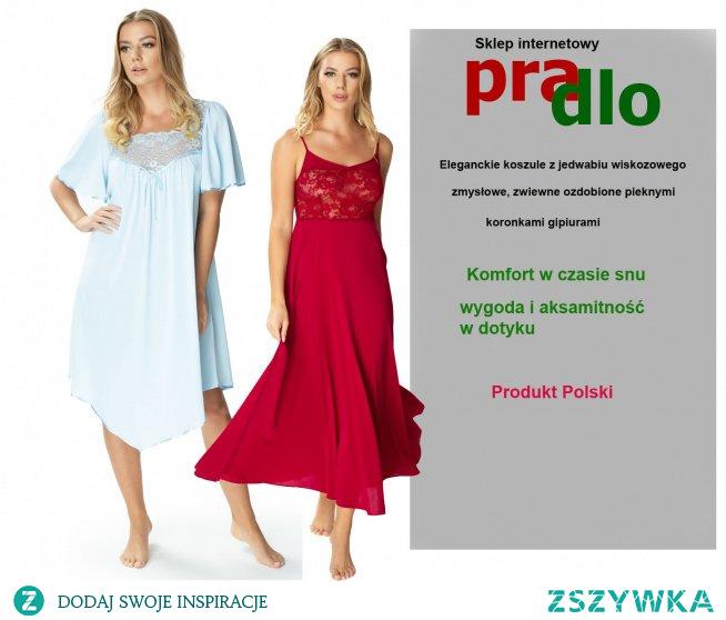 Wyjatkowe koszule nocne poleca Pradlo.pl