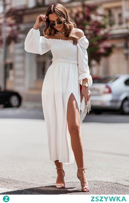 Do czego pasuje długa spódnica? Sprawdź nasze stylizacje klikając w zdjęcie.#moda#sukienka