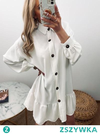 Sukienka Melania to wspaniała propozycja na rozpoczynający się sezon, zarówno do pracy jak i na luźne wyjście na miasto lub do restauracji.