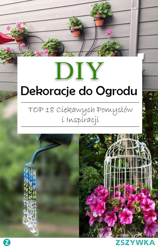 Proste Dekoracje DIY do Ogrodu