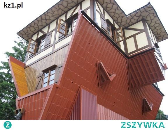 Gdzie w Polsce są domki do góry nogami? Oto lista z miejscami.