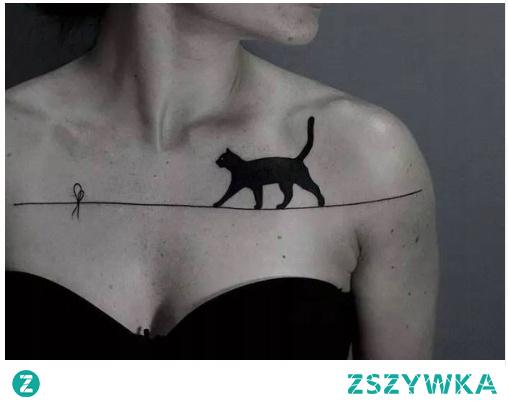 Czarny kot na szczęście