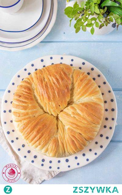 Wełniane ciasto drożdżowe - Wypieki Beaty