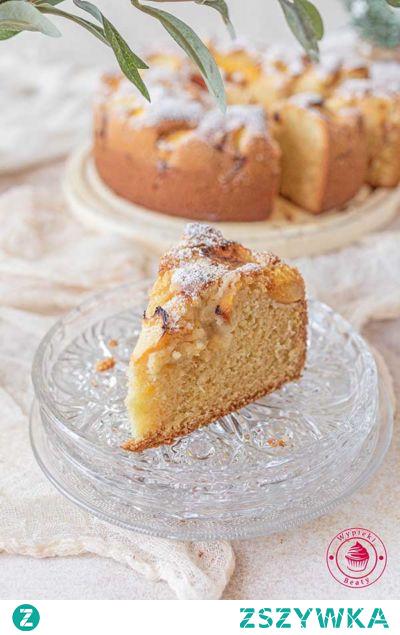 Maślane ciasto z brzoskwiniami - Wypieki Beaty