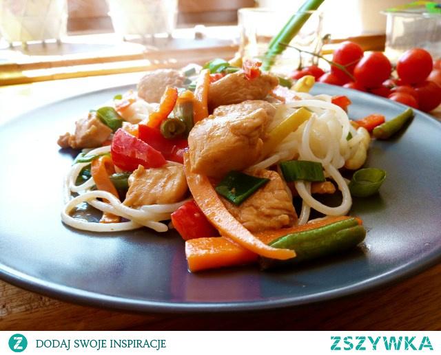 Pyszne fit danie z indyka na orientalną nutę :) Przepis na blogu.