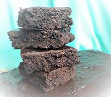 Wegańskie brownie, obłędnie...