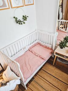 Piękna pościel niemowlęca w...