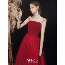 Uroczy Burgund Sukienki Na ...