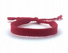 Czerwona bransoletka z muliny. Bransoletki Kabała, urok