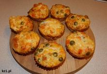 Muffinki warzywne - babeczk...