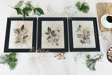 Obrazy malowane herbatą i c...