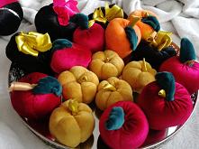 Welurowe jabłka i dynie #je...