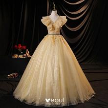 Uroczy Szampan Sukienki Na ...