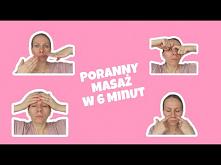 poranny masaż twarzy