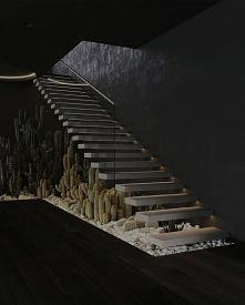 #schody #loft #kaktus