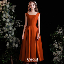 Moda Pomarańczowy Homecomin...