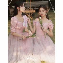 Piękne Cukierki Różowy Perł...