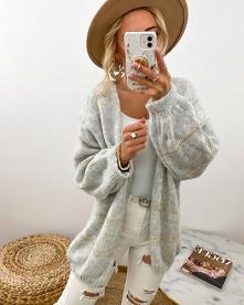 Wyjątkowy sweterek w stylu ...