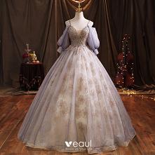 Eleganckie Błękitne Sukienk...