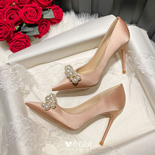 Piękne Różowe Złoto Bal Per...