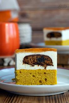 Ciasto dyniowe z kremem, pi...