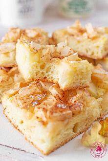 Placek Apfelkuchen - Wypieki Beaty