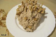 Jeż - kremowe ciasto z herb...