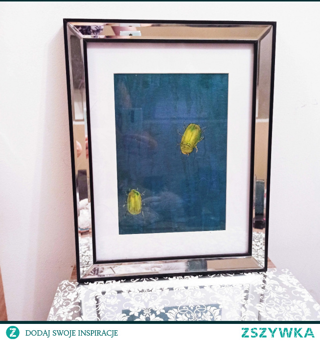 Sprzedam ręcznie malowany obraz na tablicy malarskiej A4 wraz z ramą. Cena 149zł.  kontakt ola.rysunek@gmail.com lub przez instagram glam_artistic :)  #home