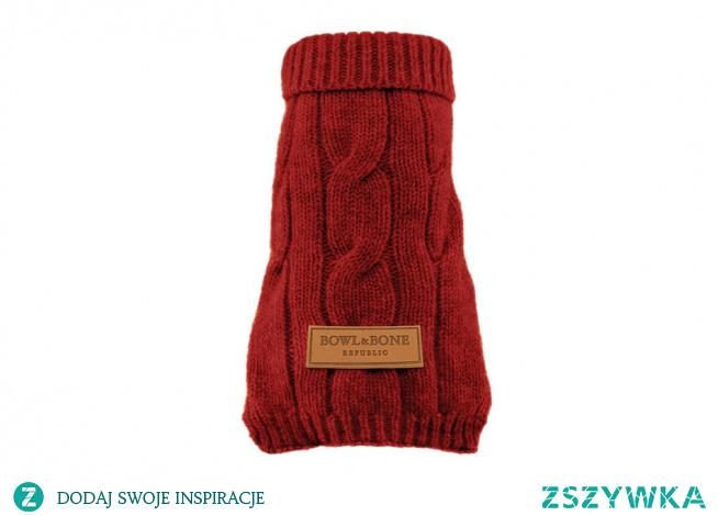 Wygodny i ciepłu, czerwony sweterek dla pieska to upominek, który sprawdzi się, gdy szukamy prezentu dla właściciela niewielkiego pieska!