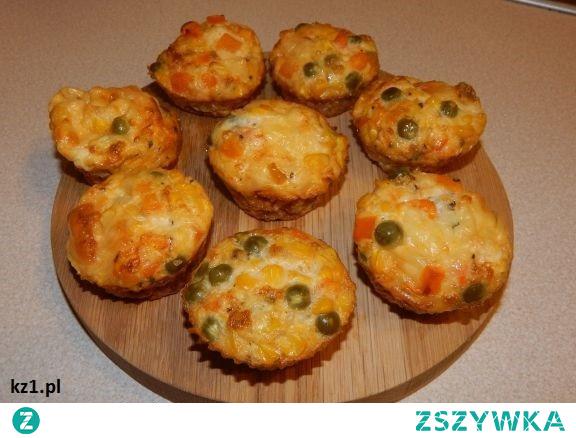 Muffinki warzywne - babeczki z warzywami.