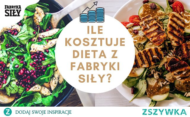 Wyliczenie ile kosztuje zwyczajny dzień jedzenia vs dzień z fabryki siły :) Diety nie muszą być drogie.