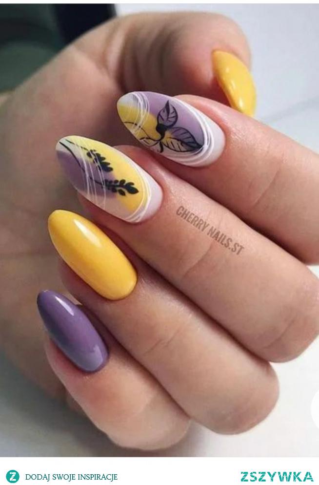#fiolet#pięknie#żółty