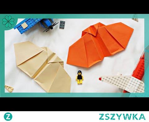 Jak zrobić Samolot z Papieru (DIY Tutorial)