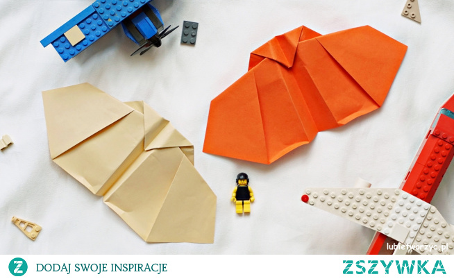 Tutorial ukazujący sposób wykonania samolotu metodą origami ;)