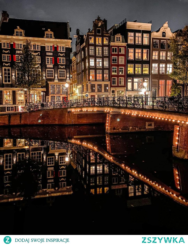 Amsterdam  #holandia #nocnewidoki