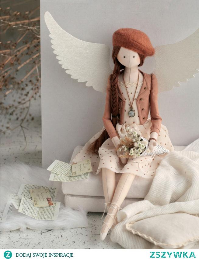 retro anioł