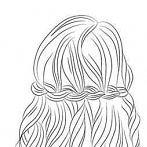 Okładka fryzury