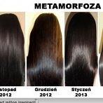 Okładka zadbane włosy