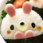 Okładka kawaii bento, sushi, onigiri i inne:)