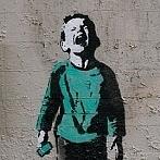 Okładka Banksy Street Art